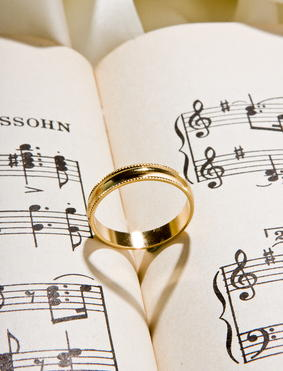 Wedding music ceremony